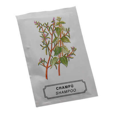 SACHET CHAMPU 10GR PACK 50 UN STD PACKS